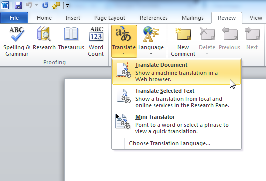 4 Great Ways to Translate an Entire Document Online