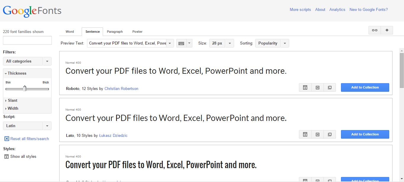 download font to google docs