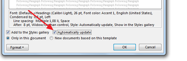 automatically update