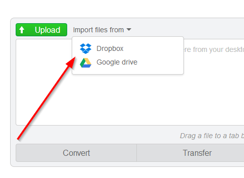 please add photo upload from dropbox , googledrive , onedrive, other