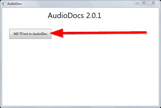 convert microsoft word to audio