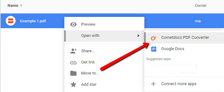 convert pdf to google sheets
