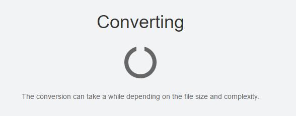 converting pdf inside google drive
