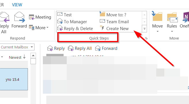create email template outlook