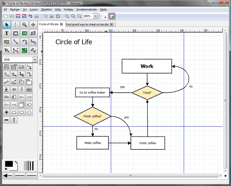 8 excellent free tools for creating diagrams dia diagram editor ccuart Gallery