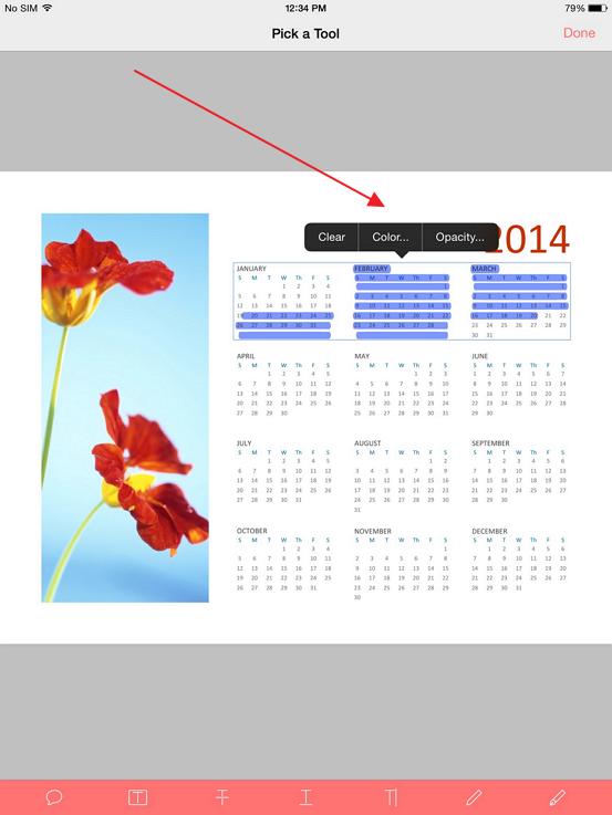 windows pdf reader undo highlight