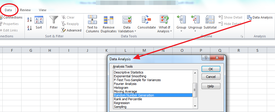 data analysis in excel  How to Start with Statistical Analysis in Excel 2013?