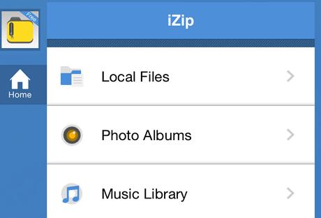 izip files
