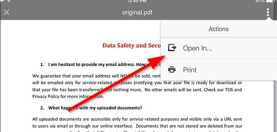 How to convert PDF to Word on Your iPhone and iPad using PDF to Word app