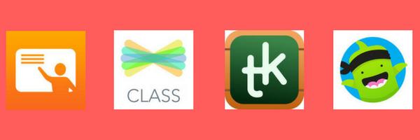 organize classes on ipad