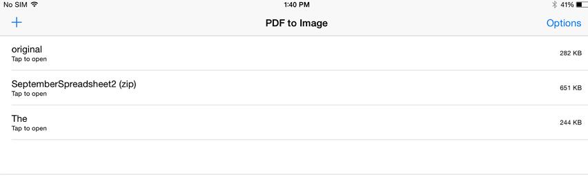 pdf to image application ipad