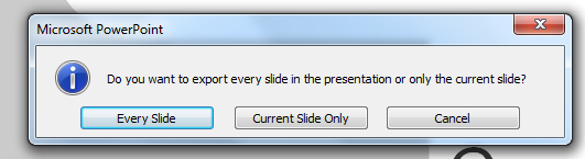 powerpoint save slide image