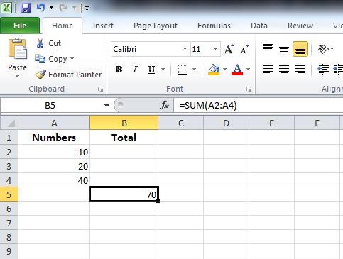 Excel Formula In Pdf File